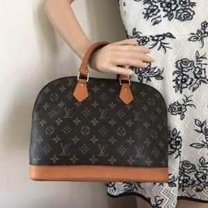 Louis Vuitton Alma Pm preloved authentic